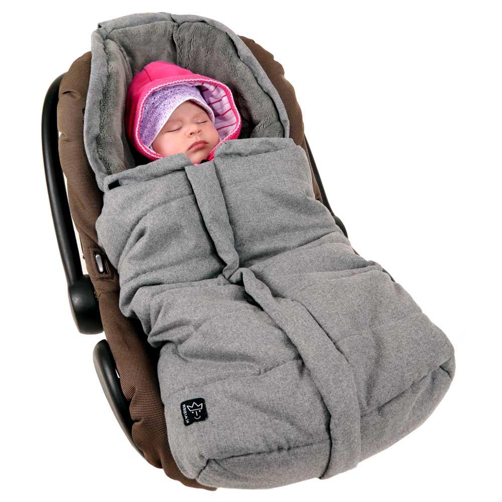 Einschlagdecke Babyschale 5 Punkt Gurt