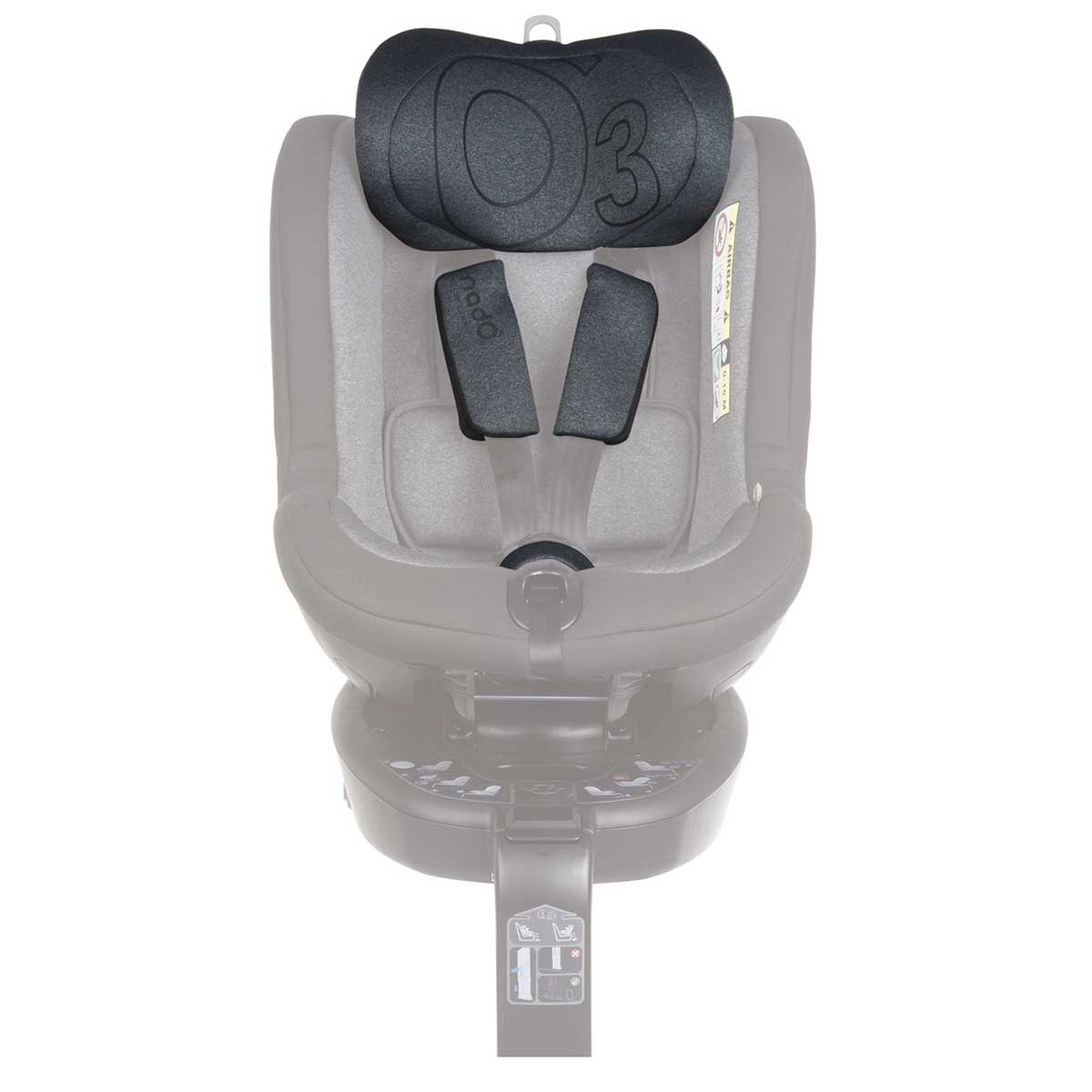 O3 Lite verstellbares Kopfteil