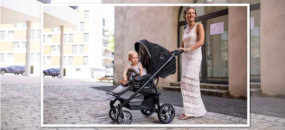 Gesslein Kinderwagen F4 individuell gestalten. Das Modell F4 Air+ ist so individuell wie dein Baby.