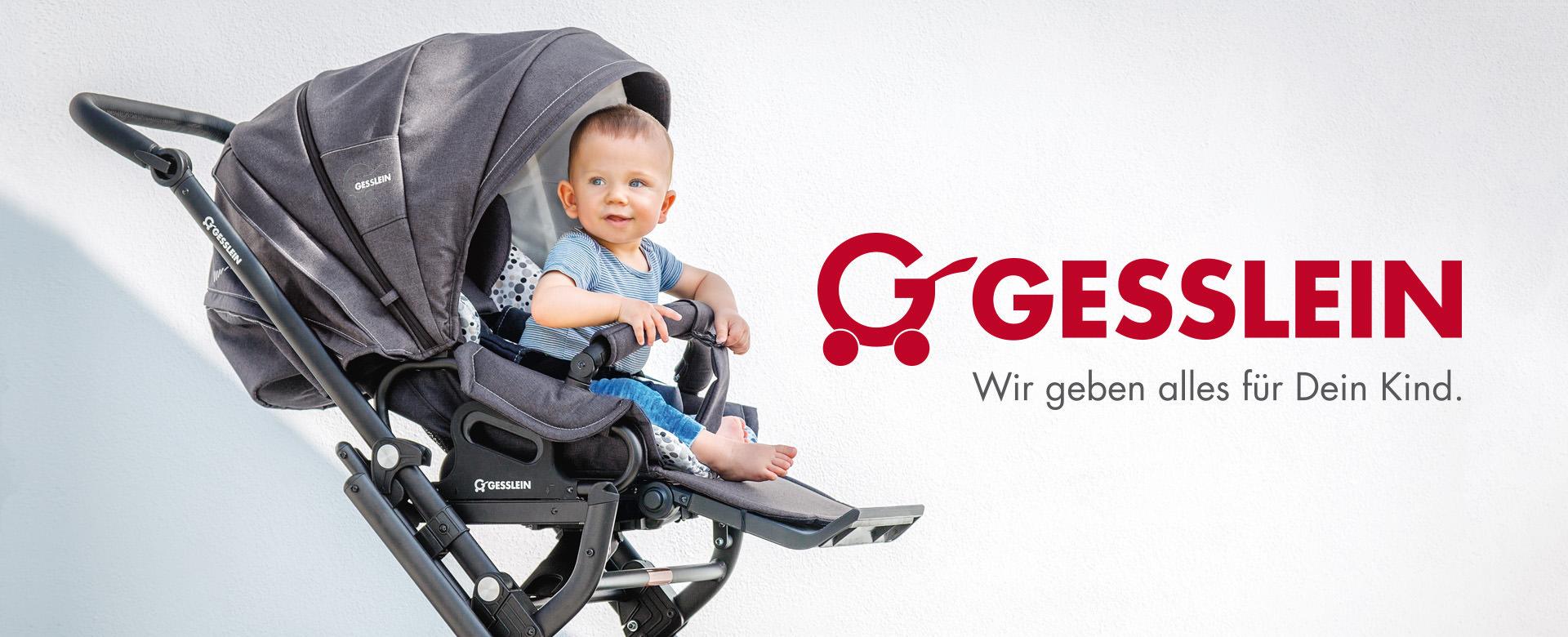 Gesslein Kinderwagen sind individuell gestaltbar. Die Modelle F4, F6, F10 oder FX4 so individuell wie dein Baby.