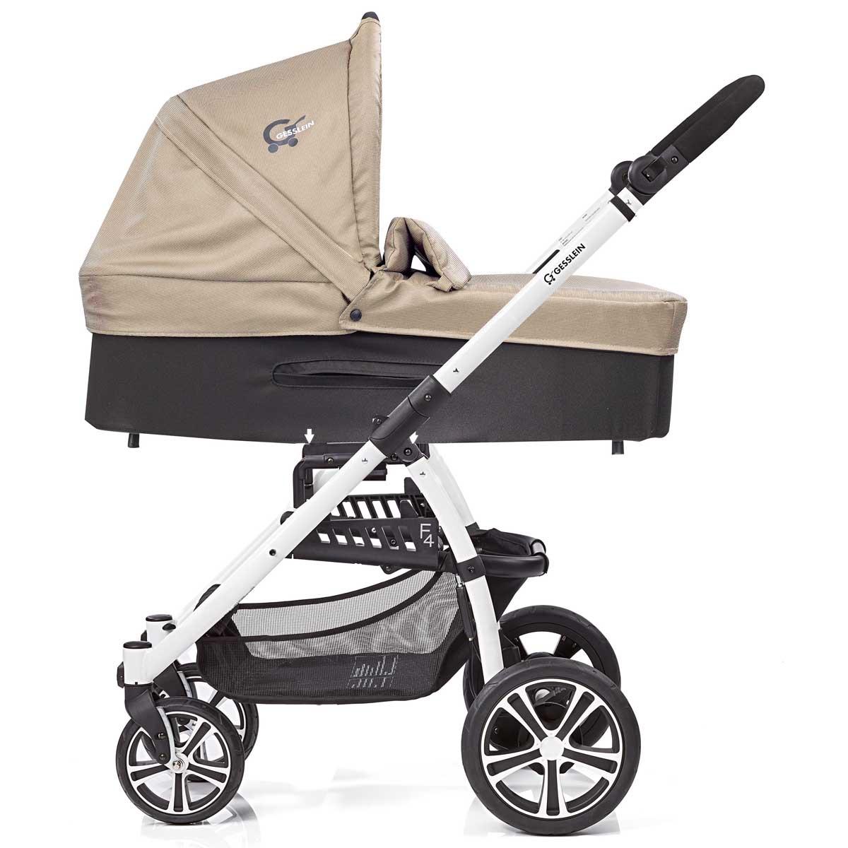 Mit der C3 Wanne kannst du den S4 Air+ Buggy von Gesslein bereits ab Geburt nutzen