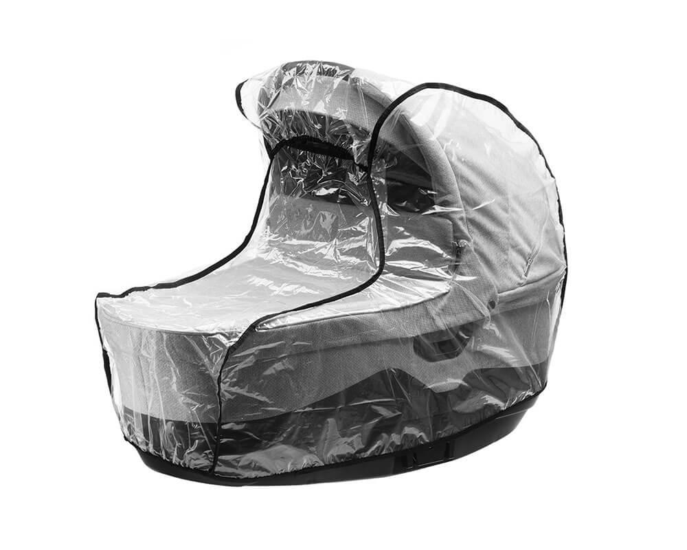 Schützen Sie Ihren Kinderwagen Jedo Tamel vor Regen. Der Regenschutz ist inklusive