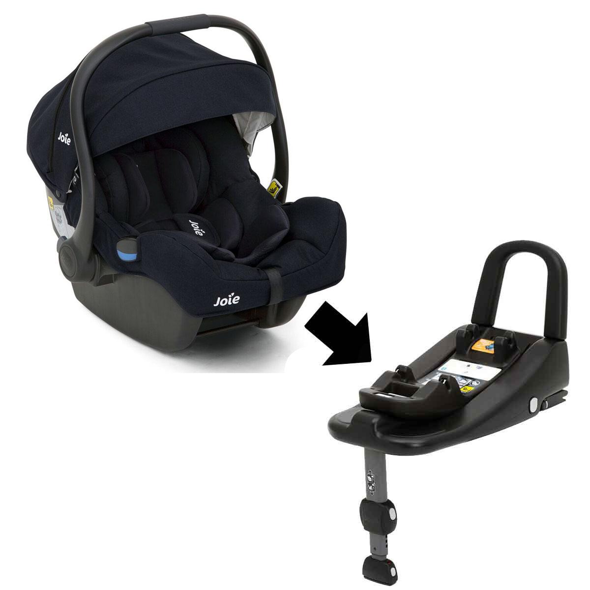 joie i gemm babyschale navy blazer opt mit i base. Black Bedroom Furniture Sets. Home Design Ideas