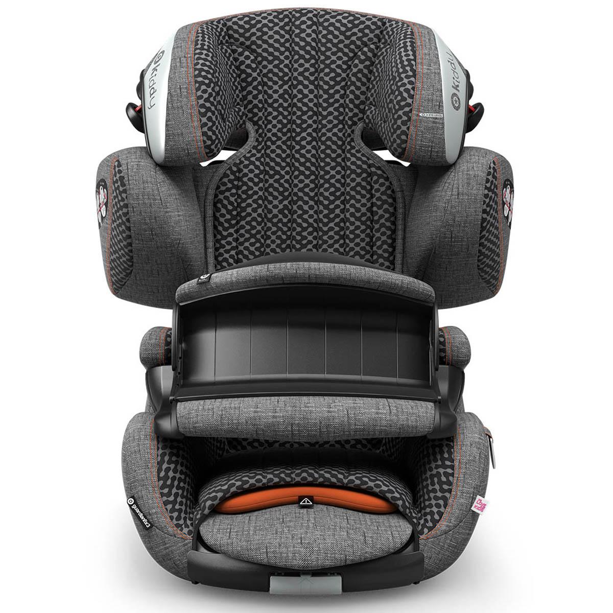 auto kindersitz kiddy guardianfix 3 retro charcoal. Black Bedroom Furniture Sets. Home Design Ideas