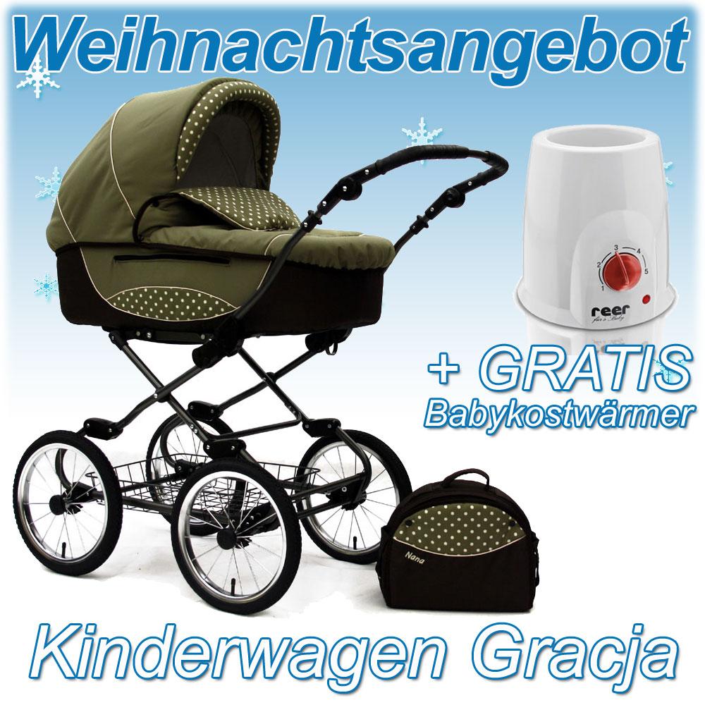 Kinderwagen Kombikinderwagen Nana Gracja klassisch + ...