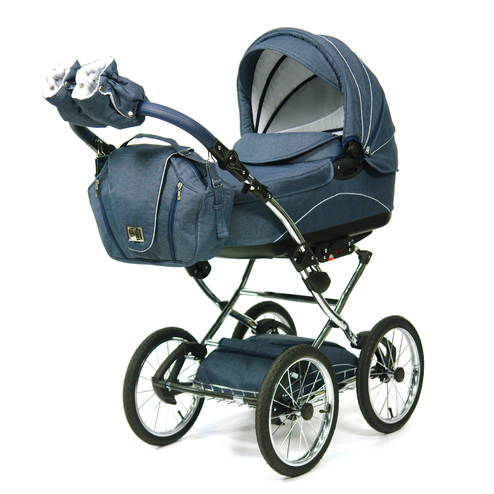 Knorr baby kombikinderwagen classico marine ebay for Ebay classico